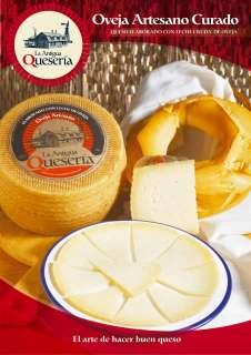 Brânză La Antigua Queseria, Artesano Curado