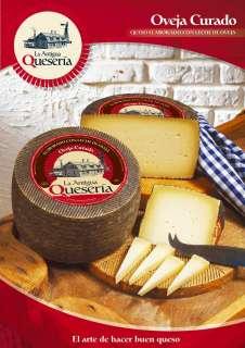 Brânză La Antigua Queseria, Curado