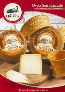 Brânză La Antigua Queseria, Semicurado